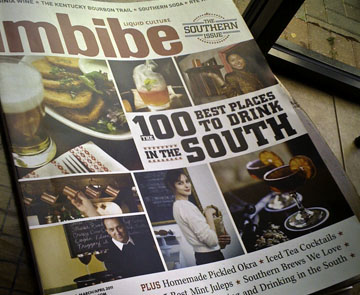 Imbibe's Best of the South